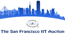 The SF IIT Access Auction Retina Logo